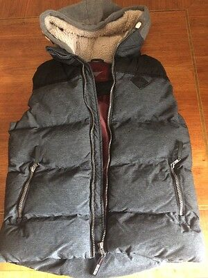 Next Boys Gillet Body Warmer Padded Coat Aged 11 Years