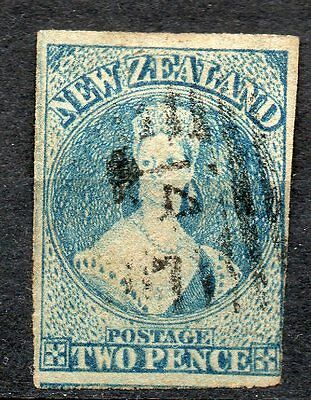 New Zealand Nouvelle Zélande Timbre n° 18 filigrane *