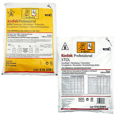 Kodak Professional XTOL Black and White Film Developer (Powder Makes 5 Liters)