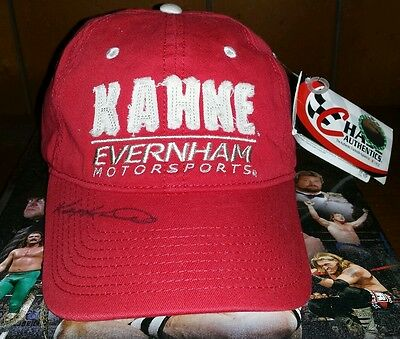 KASEY KAHNE AUTOGRAPHED VINTAGE CHASE AUTHENTICS HAT w TAGS NASCAR