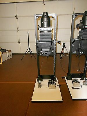 Beseler 23CIII-XL Photographic Enlarger Chassis w. Variable Condenser Lamphouse