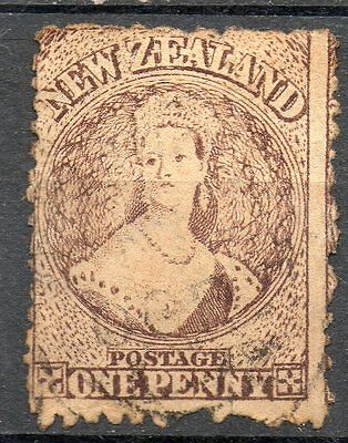 New Zealand Nouvelle Zélande Timbre n° 39  filigrane   *