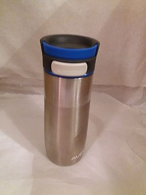 Avex AutoSeal Vacuum Stainless Steel Thermos Insulated Travel Mug - New Style