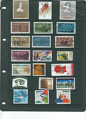 Canada Stamp Collection.