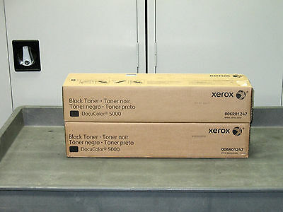 Xerox DocuColor 5000 Toner - 6R1247 - (2 Boxes)