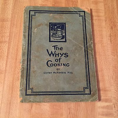 The Whys of Cooking by Janet McKenzie Hill Proctor & Gamble 1916