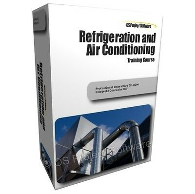Refrigeration and Air Conditioning HVAC Heating Training Course Guide Manual CD