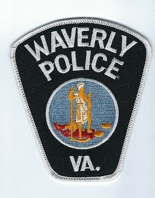 Waverly (Sussex County) VA Virginia Police Dept. patch - NEW!