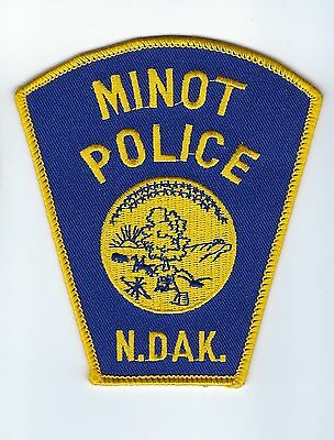 Minot (Ward County) ND North Dakota Police Dept. patch - NEW!