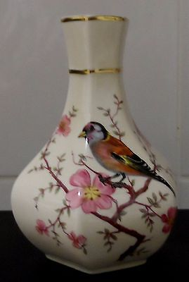 Lovely Royal Worcester / Palissy small vase