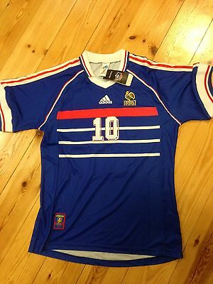 Maillot FOOT ADIDAS EQUIPE FRANCE 1998 FFF COQ  VINTAGE TAILLE/XL/D7 TBE