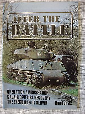After The Battle # 32 (Commando Raid Guernsey, Ascension Island, WW2 Execution)
