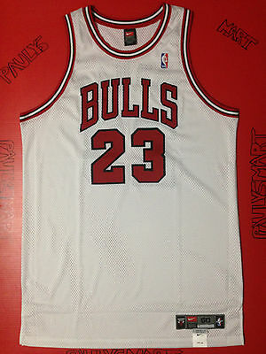 Authentic New Michael Jordan Chicago Bulls 23 Red Pro-Cut Nike Game Jersey 50+4