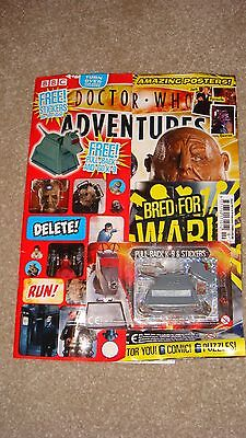Rare and Hard to Find Doctor Who Adventure Issue 101 Feb 2009