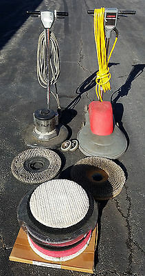 "Betco Foreman 1600 20"" Floor Burnisher Polisher 1600rpm + Sterling + Accesories"