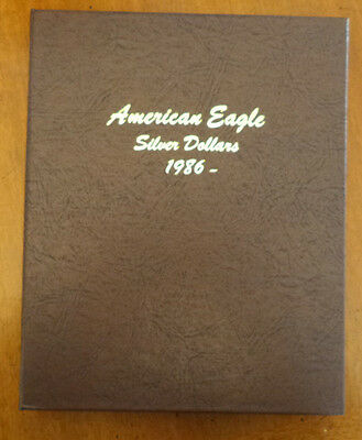 1986-2016 American Eagle Silver Dollar Set, All 31 Coins in New DANSCO Album -#8