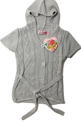 New HOODIE size 3T BABY GIRLS TODDLER CUTE GRAY TRENDY CARDIGAN SWEATER JACKET