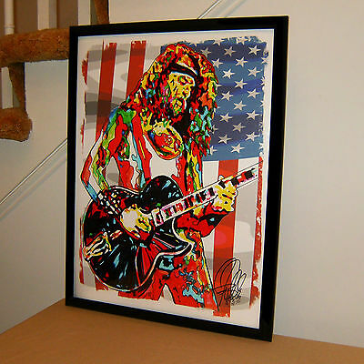 Ted Nugent, The Amboy Dukes, Singer, Rock Guitar, Hard Rock, 18x24 POSTER w/COA1