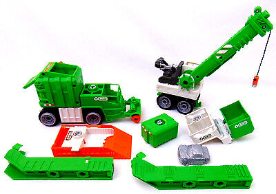 Matchbox MEGA RIG 2009 Recycle Action Pack Set TOYS R US - incomplete - EUC!