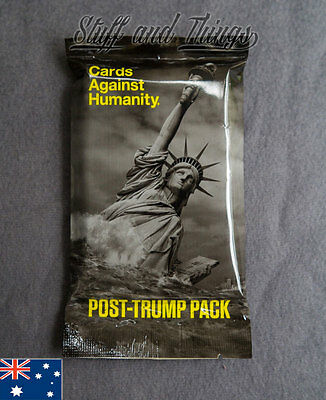 *Genuine* Cards Against Humanity - Post-Trump Expansion Pack - Discontinued line
