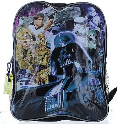 Elementary School Backpack For Boys Star Wars Movie Book Bag Kids Luggage New