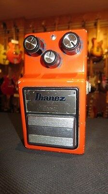 Circa 1984 Made in Japan Ibanez PT-9 Phaser Effect Pedal Red Thick Phase Tones