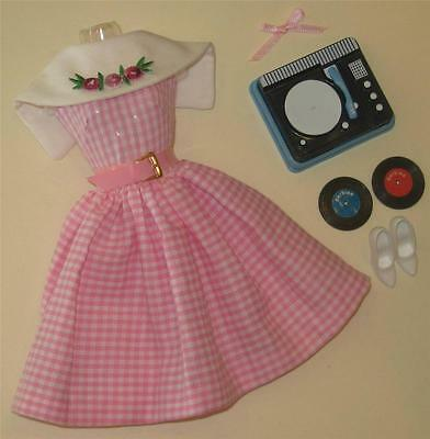 Vintage Barbie Repro/reproduction-#1626 Dancing Doll Fashion-Mint