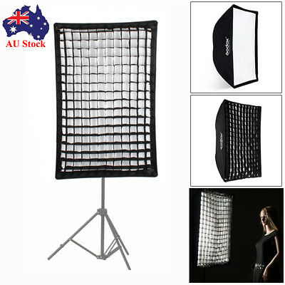 Godox Photography 60x90cm Umbrella Rectangle Softbox with Grid For SpeedLight AU