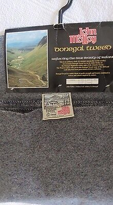 Donegal Handwoven Tweed Fabric 3 Yard Piece Woven In Ireland By John Molloy
