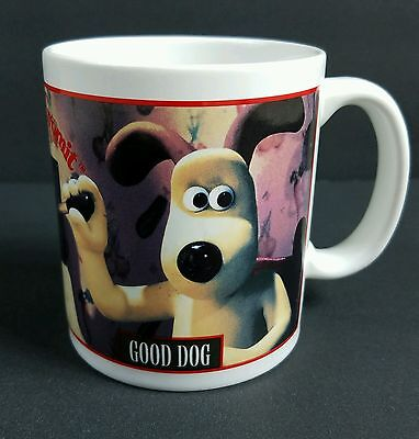 Vintage Wallace and Gromit 1989 Good Dog Bad Dog Coffee Mug Cup Preston