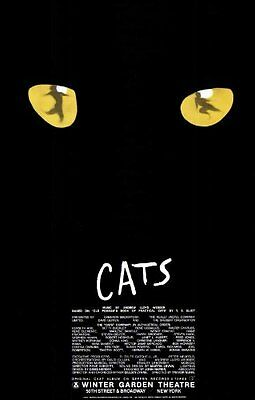 Cats Poster Broadway Theater Play 11x17 Jean Arbeiter Linda Balgord MasterPoster