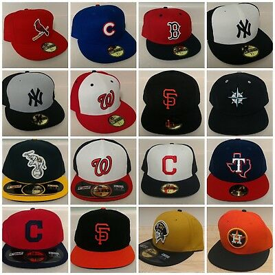New Era MLB 59Fifty 2016 Game Hats - Multiple Teams and Sizes-MORE TEAMS  INSIDE 1664152a8b9
