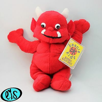 Flame The Little Devil Beanie Kid Rare Mutation 2Nd Generation Swing Tag