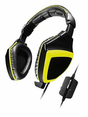 Snakebyte Python 3400S Stereo Gaming Headset für PC, Notebook, XBOX One, PS4