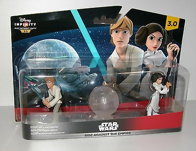 Disney Infinity 3.0 STAR WARS Rise Against the Empire Playset with Luke & Leia
