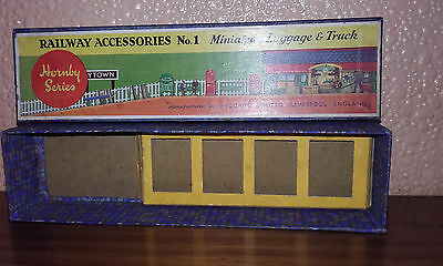 Hornby O Gauge Railway Accessories No.1 Luggage/truck(Empty Box Complete Inner