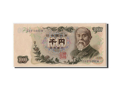 [#308170] Japan, 1000 Yen, Undated (1963), KM:96d, Undated, UNC(60-62)