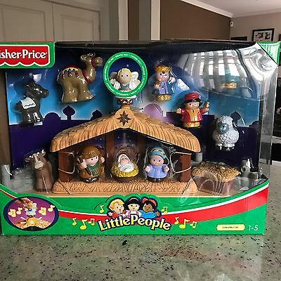 Fisher Price Little People Deluxe Christmas Story Set - Brand New In Box