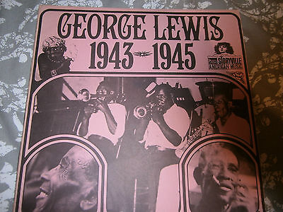 """George Lewis""""1943-1945 On The Storyville Label"""