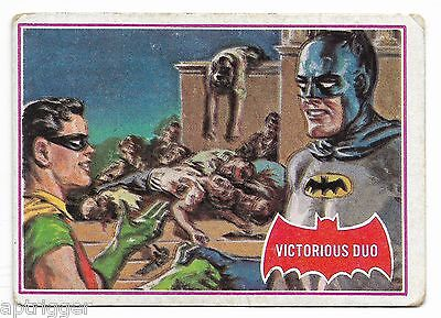 1966 Batman Red Bat (28A) Victorious Duo - Good