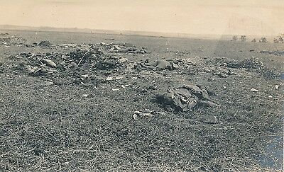 Guerre WW1 14-18 - Carte Photo Fère-en-Tardenois Militaires Morts  Aisne - GV305
