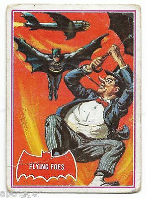 1966 Batman Red Bat (31A) Flying Foes - Good