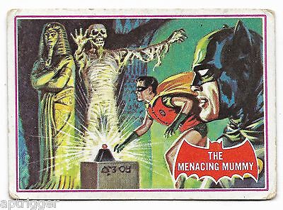 1966 Batman Red Bat (3A) The Menacing Mummy - Good