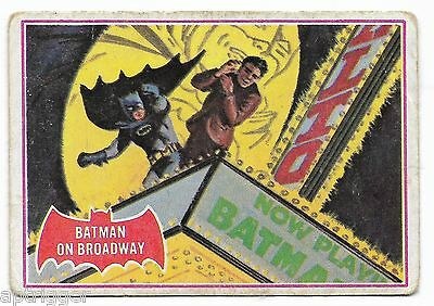 1966 Batman Red Bat (44A) Batman On Broadway - Good