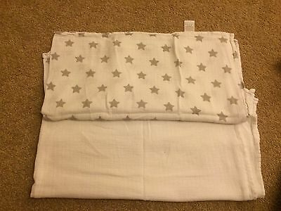 Baby Nursery Swaddle Sheets.