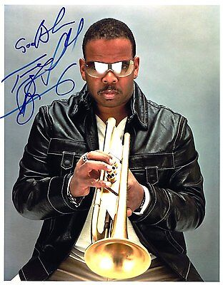 TERENCE BLANCHARD Jazz legend RARE AMAZING IN PERSON SIGNED W/PROOF COA