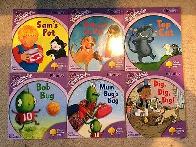 Oxford Reading Tree: Level 1+, More Songbirds Phonics, 6 Books Collection Set