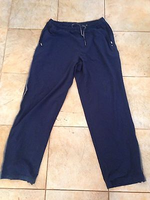Nike Dry Fit Navy Blue Track Pants