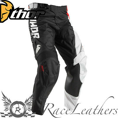 Thor Pulse Mx Youth Motocross Dirt Bike Motorcycle Pants Activ Black Red