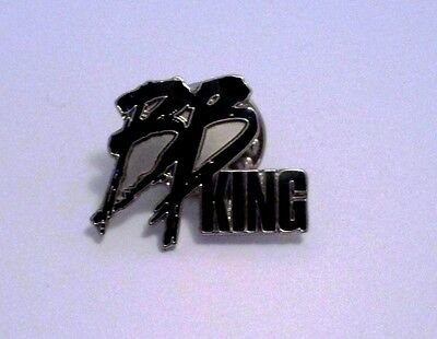 Bb King Very Rare Original Pin Obtained In Person W/proof !!